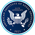 American Institute of Legal Advocates | Elite Advocate | 2021