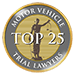 Motot Vehicle Trial Lawyers | Top 25