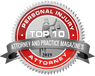 Attorney and practice magazine's Top 10 Personal Injury Attorney 2019